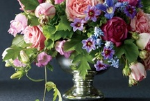 Floral design, indoors and out