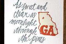 Georgia on my mind....