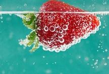 Red and aqua / by Sofia Aspillaga