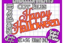 Cardology - Halloween 01 / Halloween Holiday Handmade Cards or Embellishments. NO PIN LIMITS...Re-PIN as many as you wish!