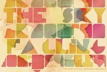Typography Design / by Robin Liu