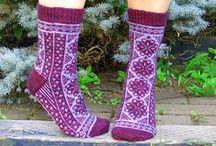 Tricot : chaussettes