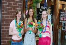 In Store Events / We love hosting classes, demonstrations and work shops in our Princeton NJ flower shop - be sure to visit our facebook page at www.facebook.com/localflorist or our website www.sendingsmiles.com for more information