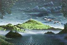 Celtic places : Glastonbury / by Loar Zour - Chant des Fées