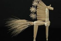 Chevaux : créations, bricolages - Horses crafts