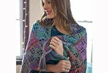 Crochet scarves, shawls & boot cuffs / by Mary Lee