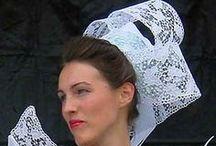 Bretagne : Chapeaux, coiffes et cols