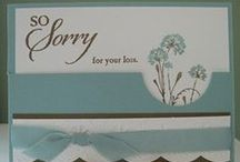 Cardology - Sympathy / Handmade Cards for Condolences.  NO PIN LIMITS...Re-PIN as many as you wish!