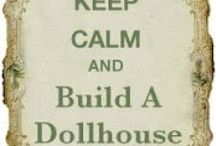 Plans for cottage dollhouse. / Thinking about doing a dollhouse from scratch designed by me. It looks like foam core is the way to go.  So much cheaper than those expensive kits and you can have everything just the way you like it. / by Susan Russell-Hamilton