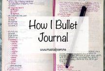 Organisation : bullet journal