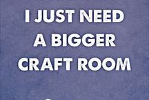 Spaces ~ Craft Room 02 / NO PIN LIMITS...Re-PIN as many as you wish!