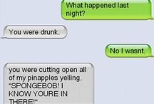 Texts that are funny