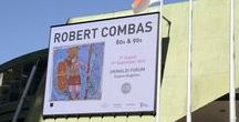 Robert Combas - 80s & 90s / Retrospective of the major artworks from the 80s and the 90s by the French artist Robert COMBAS. Exhibition organized by the Parisian gallerist Laurent Strouk at the Grimaldi Forum, Monaco