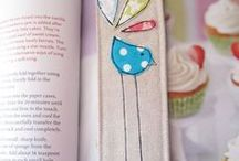 Quilts: Bookmark love