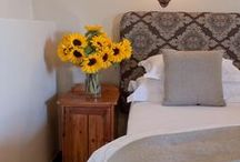 Sleep @ Schoone Oordt / Relax, Reflect, Rejuvenate.  Positioned around a fragrant rose garden, peaceful fountains and landscaped shrubbery are ten luxurious rooms that have their own patios, exquisite bathrooms, mini bar, tea / coffee facilities, satellite tv and dvd players. Handmade linen, goose-down duvets, pure wool carpets, open hearth and under-floor heating and heated towel rails in the bathrooms all add to the luxury. www.schooneoordt.co.za     / by Schoone Oordt Country House