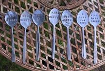 Cutlery Garden Markers