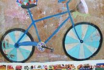 art - bicycle / by Garimo Cockova