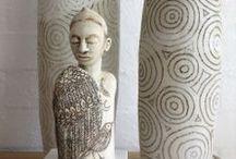Blossom Young ceramic art /  www.blossomyoung.com / by Garimo Cockova