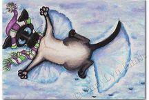 Cat Art...... / by Rosie Sienna