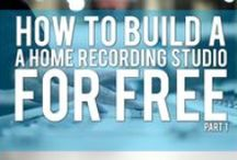 Building a Home Recording Studio for Free / Tips, tricks and suggestions on how to build your own home recording studio for little to no cost at all.