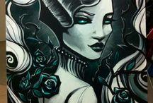 · · MY ART · · / Montassj Art My art - sketches, paintings, sleeplessness and dream-inspired creativity