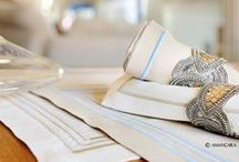 Table linens - By Amancara / Placemat Collection Amancara Luxury Italian Linens