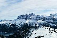 · · SNOW & MOUNTAINS <3 · ·