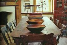 Primitive Kitchens and Dining