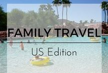 Family Travel U.S. Edition / Family Travel Tips for trips within the United States with kids from the Top Family Travel Bloggers.