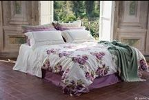 Peony Bedroom / Shop Amancara for a complete selection of bedding and towels for your peony-inspired bedroom!