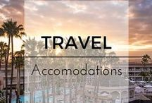 Travel Accommodations and Reviews / Looking for a great hotel, resort or vacation rental property? Check out these great reviews from Top Travel Bloggers. Travel, Hotels, Resorts, Getaways.