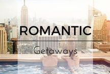 Romantic getaways and Honeymoon Destinations / The BEST places to escape with your loved one. Top resorts and destination inspiration for honeymoons and romantic getaways.