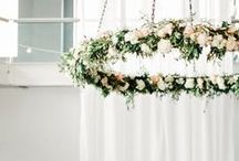 Floral Cascade / Fresh floral ideas for your wedding or any special occasion!