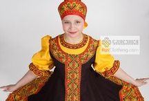 Russian dance costumes / Costumes for Russian dances, folk shows, Ukrainian dances and theatres