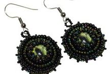 Gothic Jewelry Earrings / Explore artisan designed and handcrafted Gothic style earrings.