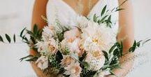 My bouquet & Flowers ❤️ / Bouquet e flores casamento / wedding bouquet and  flowers decor