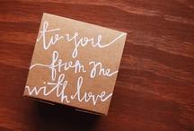 gifts. / by Jamie Zintgraff