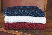 Knitwear / sweaters, knits, handknits, scarves, hats