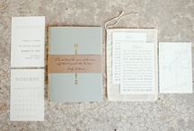 * Invitations & Stationery * / Invitations, escort cards, little words and other stationery / by Noces de Soie