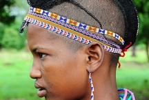 AFRICAN PEOPLE AND PLACES / Pictures of beautiful Africans / by Millie Maines