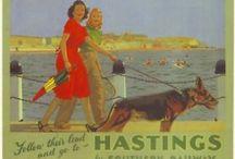 Hastings - vintage posters