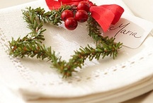Holidays / Christmastime - Party Foods, Presentation, Dinner and Tablescapes