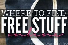 FREEbies, Steals and Deals / Not only will you find the best freebies online here, but you'll occasionally see a few steals and deals too! / by Tshanina | Thrifty T's Treasures