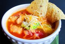 Soup's On / These soups make for an easy dinner or fabulous lunch! / by Tshanina | Thrifty T's Treasures