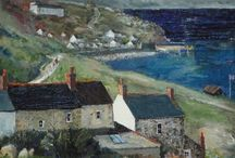 Cornwall in art / Paintings of my favourite places in Cornwall.