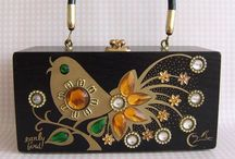 Vintage bags and purses / Not lucite - they have their own board