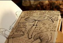 Journaling / Written, drawn, crafted - journals are an intimate yet universal art form
