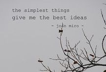 Less is More & Simplicity is Beautiful