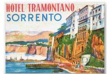 Vintage posters - places I've visited
