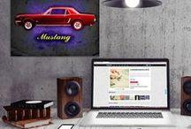 Displate - Artworks on Metal Canvas / Selection of artwork printed on metal sheets by 'Displate'. http://displate.com/alanhogan